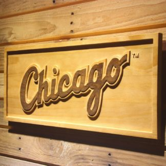 Chicago White Sox 4 Wood Sign neon sign LED