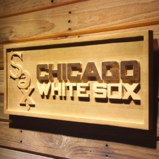 Chicago White Sox 1932-1935 Wood Sign - Legacy Edition neon sign LED