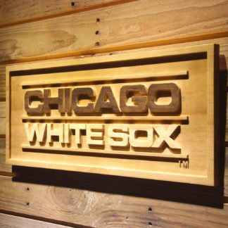 Chicago White Sox 1976-1990 Wood Sign - Legacy Edition neon sign LED