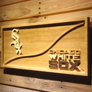 Chicago White Sox Split Wood Sign neon sign LED