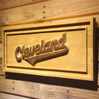 Cleveland Indians 2008-2010 Logo Wood Sign - Legacy Edition neon sign LED