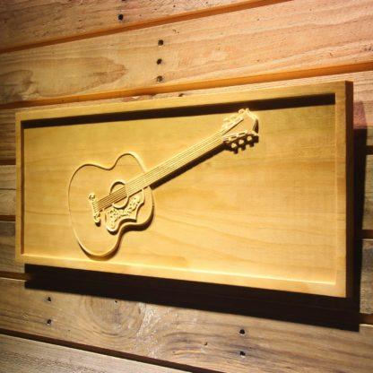 Gibson Vintage Acoustic Wood Sign neon sign LED