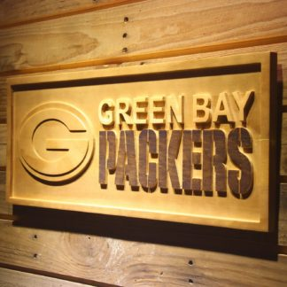 Green Bay Packers Wood Sign neon sign LED