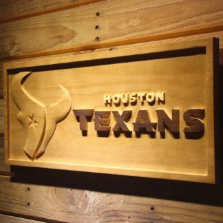 Houston Texans Wood Sign neon sign LED
