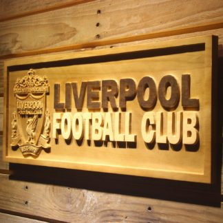 Liverpool Football Club Wood Sign neon sign LED