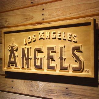 Los Angeles Angels of Anaheim Wood Sign neon sign LED
