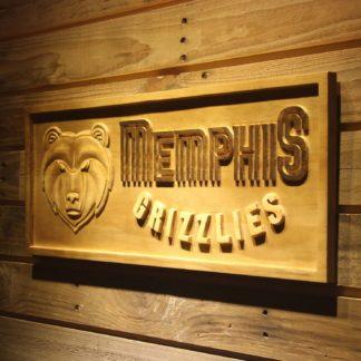 Memphis Grizzlies Wood Sign neon sign LED