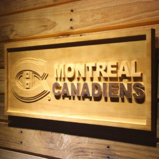 Montreal Canadiens Wood Sign neon sign LED