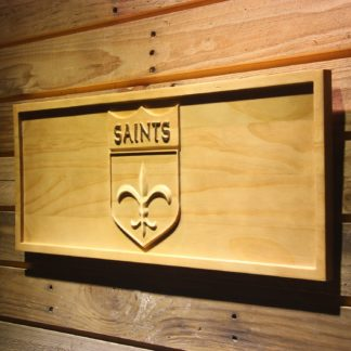 New Orleans Saints 1967-1984 Wood Sign - Legacy Edition neon sign LED