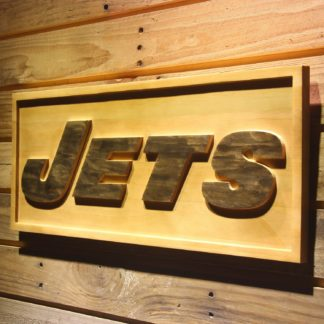 New York Jets Text Wood Sign neon sign LED