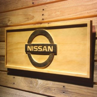 Nissan Wood Sign neon sign LED