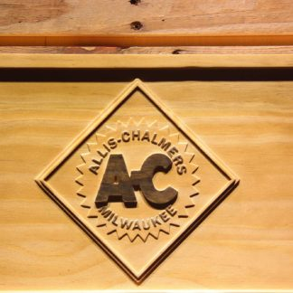 Allis-Chalmers Wood Sign neon sign LED
