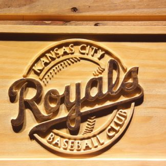 Kansas City Royals 2002-2005 Wood Sign - Legacy Edition neon sign LED