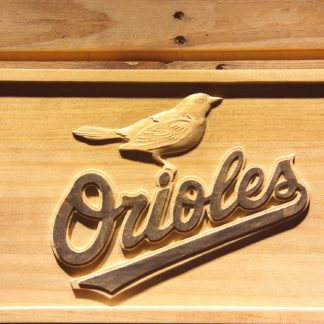 Baltimore Orioles 8 Wood Sign neon sign LED