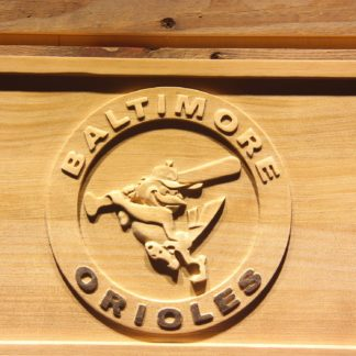 Baltimore Orioles 1989-1991 Wood Sign - Legacy Edition neon sign LED