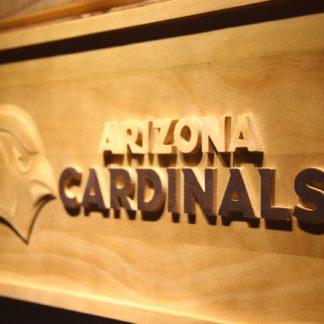 Arizona Cardinals Wood Sign neon sign LED