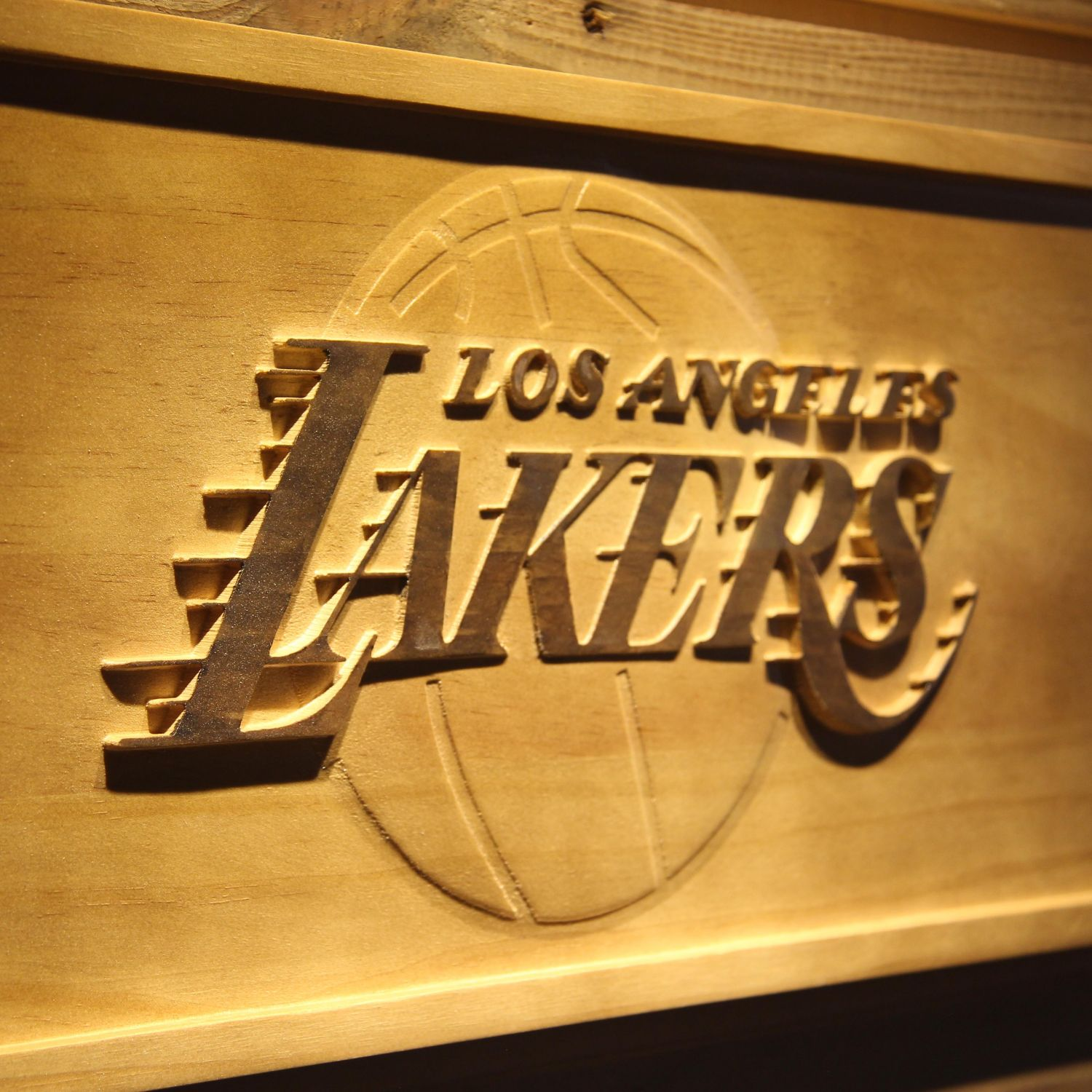 Los Angeles Lakers Wood Sign - neon sign - LED sign - shop - What's ...