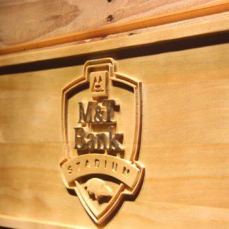 Baltimore Ravens M&T Bank Stadium Wood Sign neon sign LED