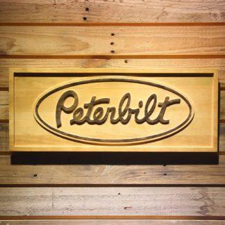 Peterbilt Wood Sign neon sign LED