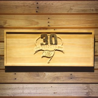 Tampa Bay Buccaneers 30th Anniversary Logo Wood Sign - Legacy Edition neon sign LED