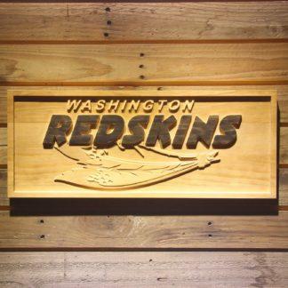 Washington Redskins 2002-2004 Wood Sign - Legacy Edition neon sign LED