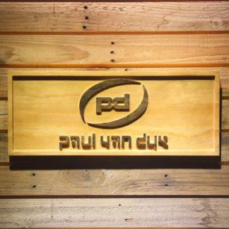 Paul Van Dyk Wood Sign neon sign LED