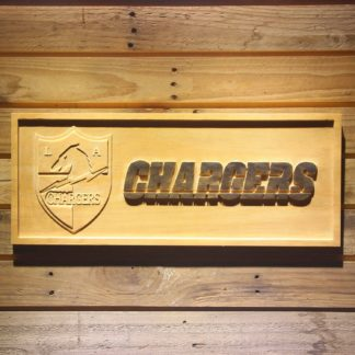 San Diego Chargers 1960 Wood Sign - Legacy Edition neon sign LED