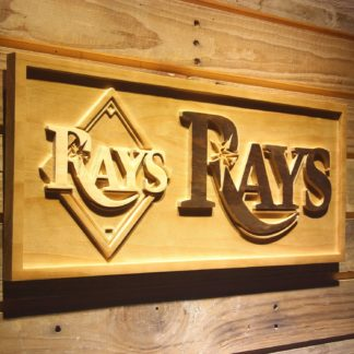 Tampa Bay Rays 3 Wood Sign neon sign LED