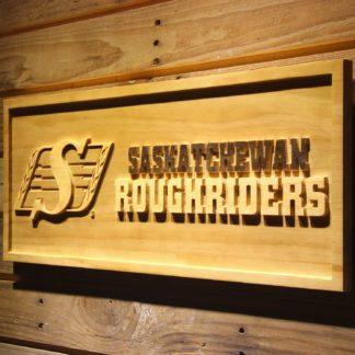 Saskatchewan Roughriders Wood Sign - Legacy Edition neon sign LED