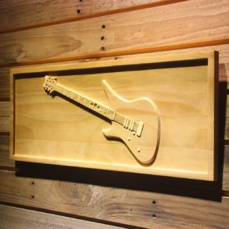 Schecter Synyster Wood Sign neon sign LED