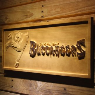 Tampa Bay Buccaneers Wood Sign neon sign LED