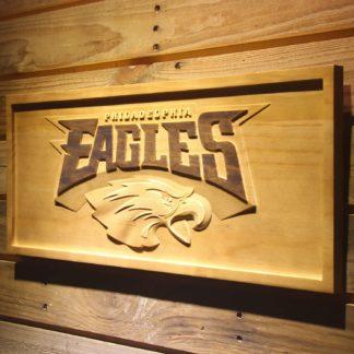 Philadelphia Eagles Wood Sign neon sign LED