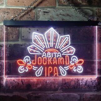 Abita Beer Jockamo IPA LED Neon Sign - Dual Color neon sign LED