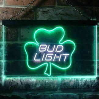 Bud Light Leaf 1 LED Neon Sign neon sign LED