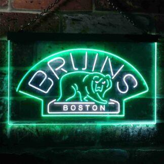 Boston Bruins Logo 1 LED Neon Sign - Legacy Edition neon sign LED