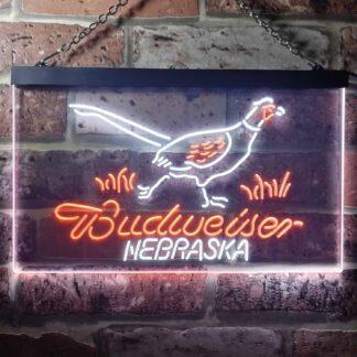 Budweiser Nebraska Bird LED Neon Sign neon sign LED