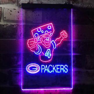 Green Bay Packers #4 Brett Favre LED Neon Sign neon sign LED