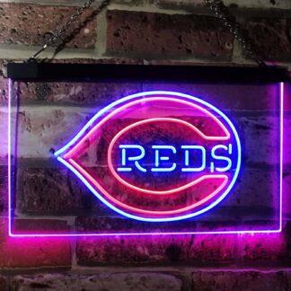 Cincinnati Reds Logo 1 LED Neon Sign neon sign LED