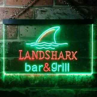Landshark Lager - Bar and Grill Sharkfin LED Neon Sign neon sign LED