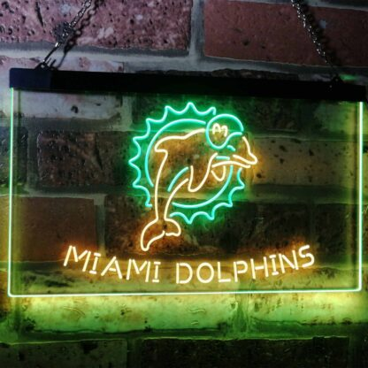 Miami Dolphins LED Neon Sign - Legacy Edition neon sign LED