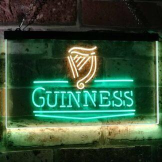 Guinness Logo 2 LED Neon Sign neon sign LED