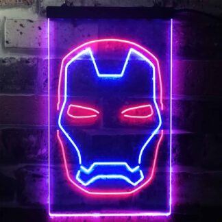 Iron Man Face LED Neon Sign neon sign LED