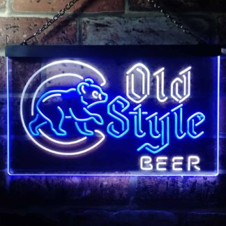 Chicago Cubs Old Style Beer LED Neon Sign neon sign LED