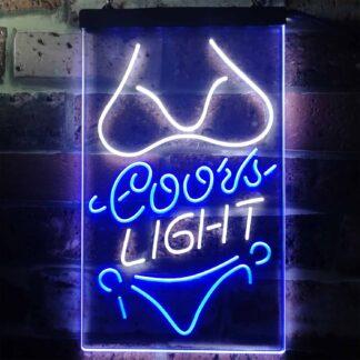 Coors Light Bikini LED Neon Sign neon sign LED