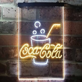 Coca-Cola Cup with Bubbles LED Neon Sign neon sign LED