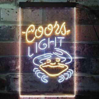 Coors Light Crabby LED Neon Sign neon sign LED