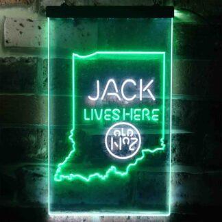 Jack Daniel's Jack Lives Here - Indiana LED Neon Sign neon sign LED