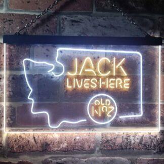 Jack Daniel's Jack Lives Here - Washington LED Neon Sign neon sign LED
