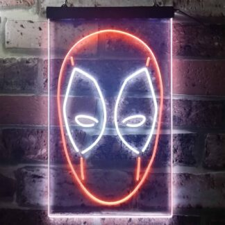 Deadpool Face LED Neon Sign neon sign LED