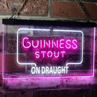 Guinness Stout On Draught LED Neon Sign neon sign LED
